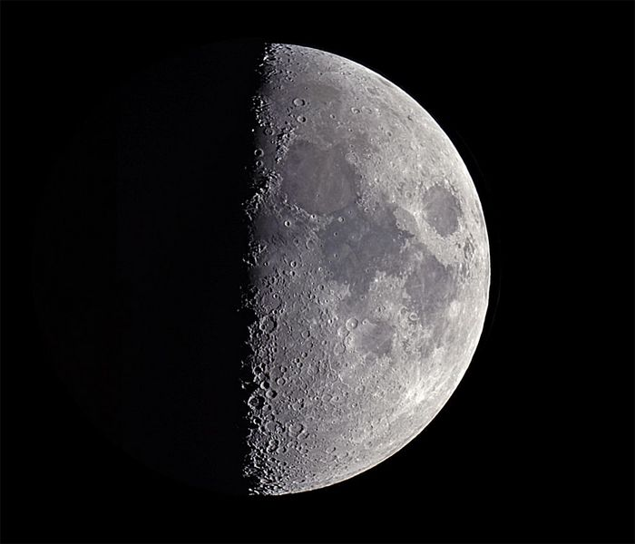 Fase Lunar Cuarto Creciente Agosto: Lunas y luces luna de junio ...